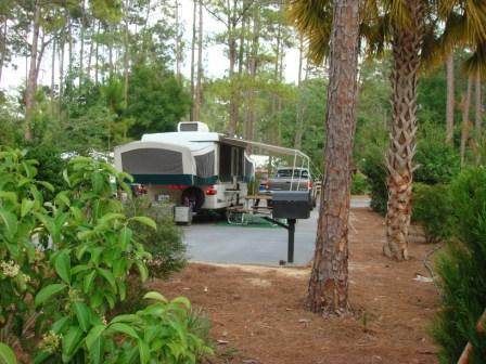 fort wilderness campsite pictures